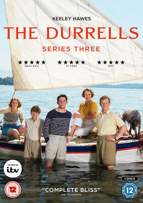 The Durrells: Series Three DVD (2018) Keeley Hawes cert 12 2 discs Amazing Value