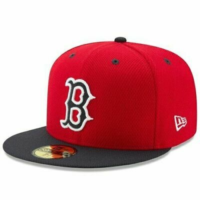 Boston Red Sox New Era MLB Diamond Era 59Fifty On Field Fitted Cap NWT