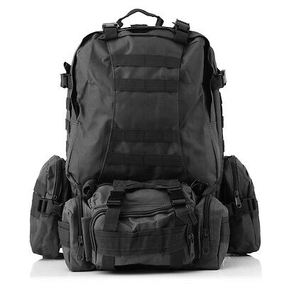 45L Large outdoor multifunction hiking backpack tactical military Rucksacks Bags