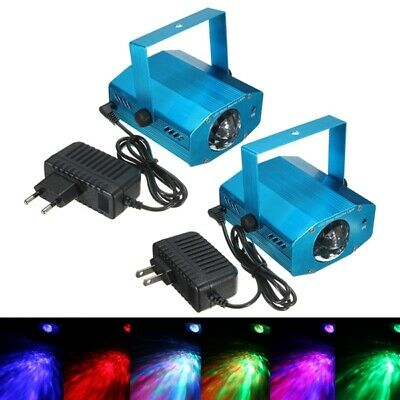 3W RGB LED Projector Voice Activated Remote Stage Lighting for Club Dj