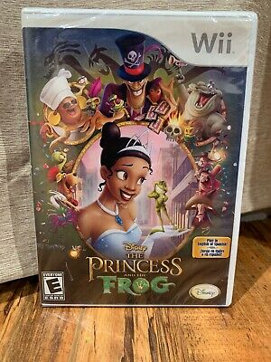 Disney - The Princess And The Frog (Nintendo Wii, 2007) -  New Factory Sealed!