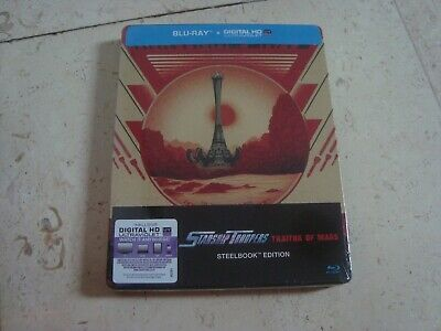 STARSHIP TROOPERS TRAITOR OF MARS BluRay SteelBook NEW & SEALED + HD ULTRAVIOLET