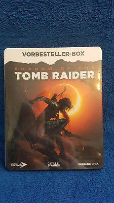 Shadow Of Tomb Raider STEELBOOK (Vorbesteller-Box) *Neu*
