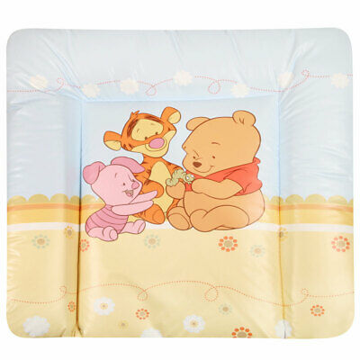 Zöllner Wickelauflage Softy 75x85 cm Folie Baby Pooh and Friends blau