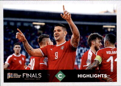Sticker 471 Road to EM 2020 D Highlights UEFA Nations League