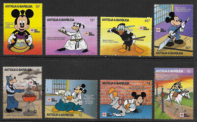 Topical Stamps Good Disney Antigua And Barbuda Beautiful Collection $ 44.00