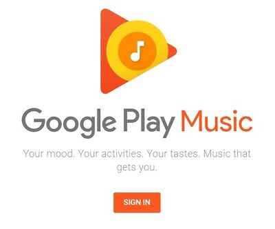 Google Play Music - 1 YEAR ACCESS - $42