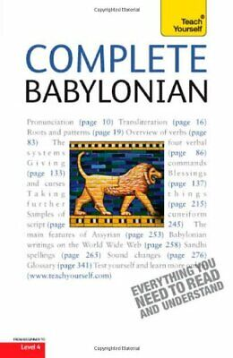 Complete Babylonian: Teach Yourself By Martin Worthington