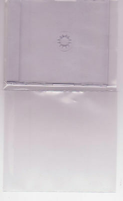 collectors cd poly covers slide ons   high quality sleeves )200 covers bulk buy(