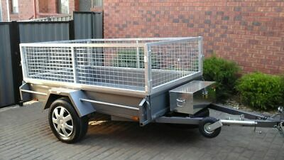 8 x 5  Heavy Duty Europe Trailer with Cage