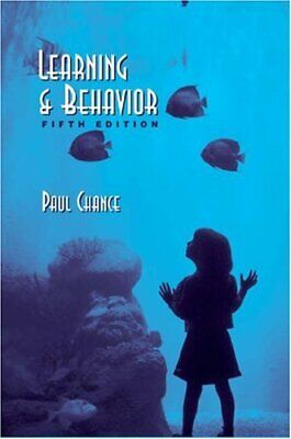 Learning and Behavior By Paul Chance