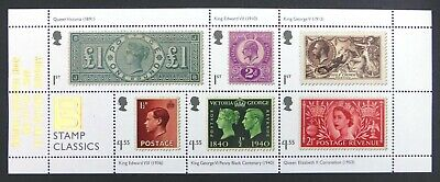 GB 2019 Stamp Classics M/Sheet Salisbury Collectors Show Limited Edition NQ138