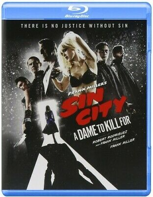Frank Miller's Sin City 2: A Dame To Kill For (Blu-ray New)