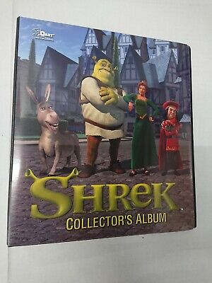 Shrek Collectors Officially licensed 3-ring Trading Card Album Binder with Packs