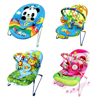 Baby Bouncer Rocker Chair Music Vibration Toys - High quality- 30%off