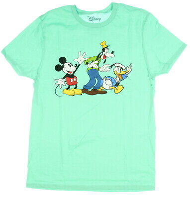 795d46a40 Disney Mickey Mouse Shirt Men's Mickey Donald Goofy Wave Licensed T-Shirt