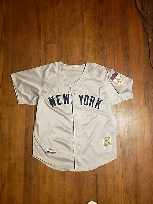 e0c03ec5565 VINTAGE JOE DIMAGGIO Yankees Jersey #5 Cooperstown Collection size ...