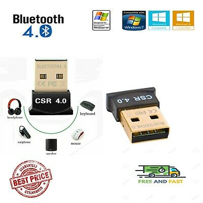 Mini Wireless Bluetooth Adapter Dongle CSR V 4.0 USB 2.0 Stick For PC Win 7/8/10