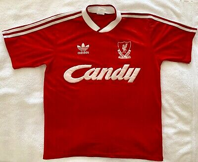 5d5a9716f Liverpool FC RETRO LFC 1988 - 1989 Authentic Adidas Rare Home Red Jersey  Shirt