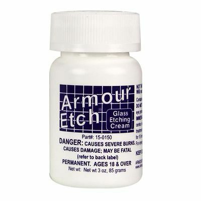 ARMOUR ETCH GLASS ETCHING CREAM 3oz NEW NEVER USED