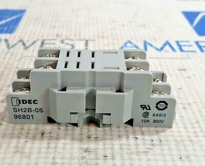 IDEC SH2B-05 Relay Base 10 A 300 V SH2B05