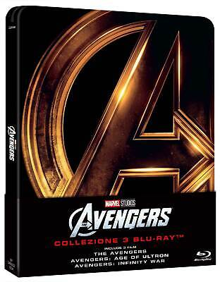Avengers Trilogy (3 Blu-Ray) (Steelbook) MARVEL