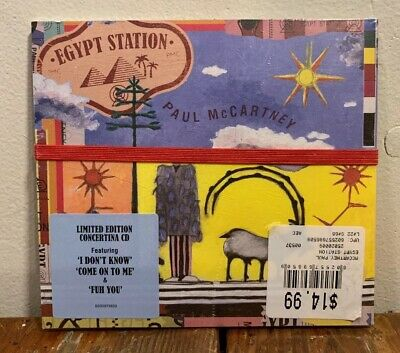 Paul McCartney - Egypt Station - BRAND NEW CD - Limited Edition Concertina
