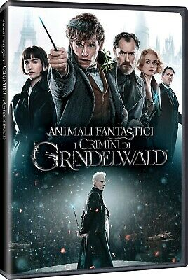 Animali Fantastici - I Crimini Di Grindelwald DVD WARNER HOME VIDEO