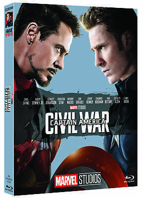 Captain America - Civil War (Edizione Marvel Studios 10 Anniversario) (Blu-Ray)