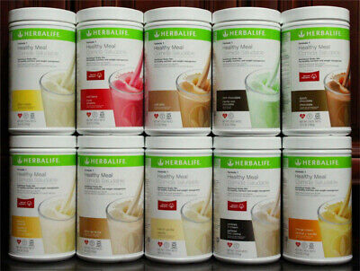 Herbalife Formula 1 Healthy Meal Nutritional Shake Mix:all Flavor