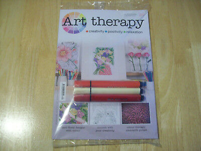 Art Therapy Partwork Issue 114 - 138 Brand New and Sealed with FREE Pens Pencils