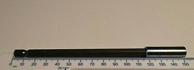 """150mm Magetic Extension Bit Holder Long Reach Extra Strong CR-V 1/4"""" HEX Shank"""