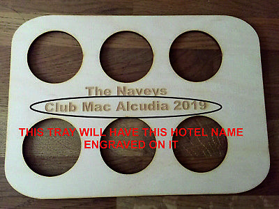 Holiday Drinks Tray FOR CLUB MAC ALCUDIA FACEBOOK GROUP MEMBERS ONLY