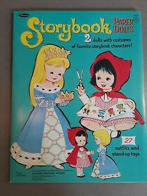 Storybook Paper Dolls, By Whitman #1951, Dated 1965