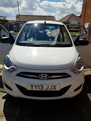 Hyundai i10 1.2 Classic 2013 - 5 Door In White Only 22743 Miles £20 Road Tax