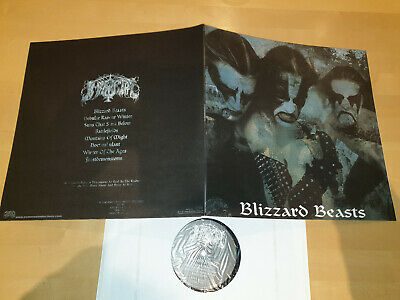 IMMORTAL - Blizzard Beasts LP / Re-Release in Gatefold Sleeve, Osmose 2005 (?)