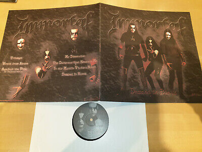 IMMORTAL -Damned In Black LP / Re-Release in Gatefold Sleeve, Osmose 2005 (?)