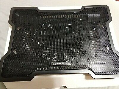"""Laptop Cooler Master NotePal X-Slim Notebook Up To 17"""" Cooling Pad 160mm Fan USB"""