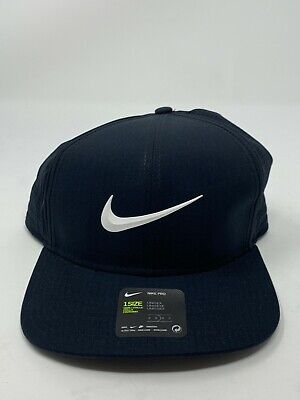 104497fe Nike Golf Men's AeroBill Adjustable Snapback Hat Black 892643-010