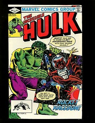 Incredible Hulk #271 VF Milgrom Buscema 1st Full Rocket Raccoon Bereet