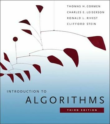 NEW Introduction to Algorithms By Thomas H. Cormen Hardcover Free Shipping