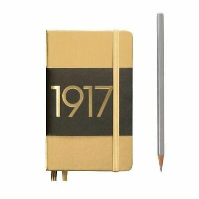 NEW Special Edition Metallic Notebook Pocket Hardcover A6 Dotted - Gold