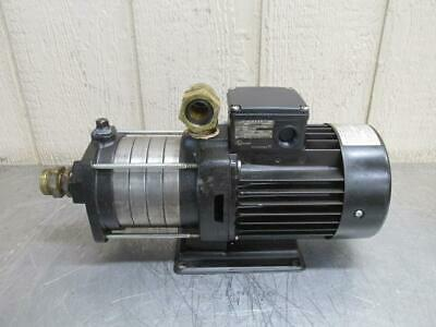Grundfos CH2-50 A-B-A-AUUV Stainless Steel Water Pump 13 GPM 3 PH 145 PSI