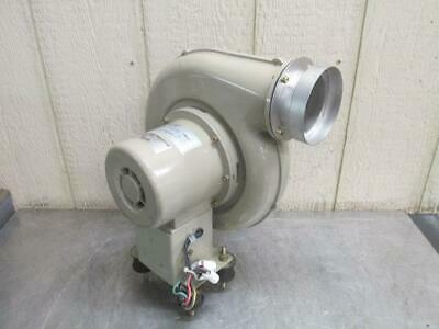 Showa Denki EM-75T Electric Centrifugal Blower Fan 272-318 CFM 3 PH 1/4 HP