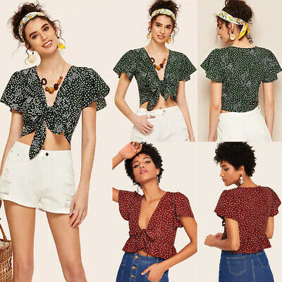 Womens Ladies Short Sleeve Vogue Slogan Gold Foil Print Casual T Shirt Crop Top