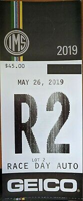 PARKING LOT 2 PASS INDY 500 RACE DAY MAY 26 2019 Indianapolis OVERNIGHT SHIPPING