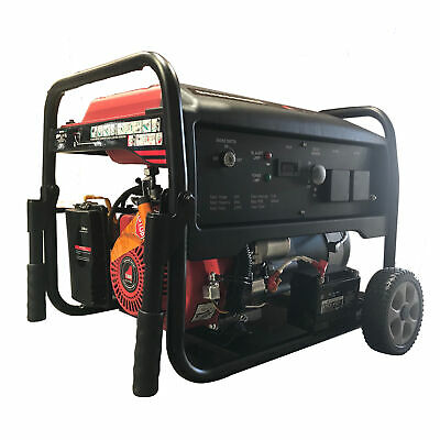 Generator Electric Start 2.2 kW 2200W 6.5 HP Petrol Engine Portable Lightweight