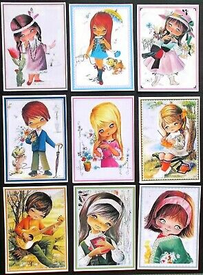 SWEET KIDS ASSORTED CARD TOPPERS x 9 WILL MAKE NICE CARDS FOR EVERYONE