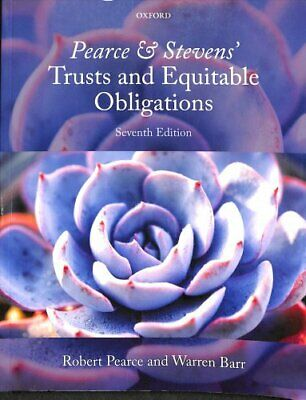 Pearce & Stevens' Trusts and Equitable Obligations 9780198745495 | Brand New