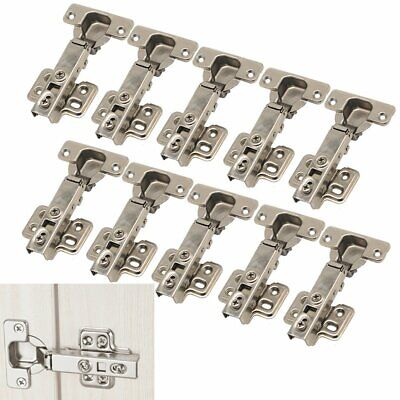 10/20/30/40X 35mm Soft Close Hinges Kitchen Cabinet Cupboard Door Full Overlay